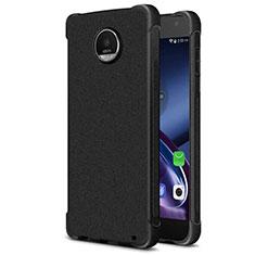 Custodia Morbida Silicone Lucido per Motorola Moto Z2 Play Nero