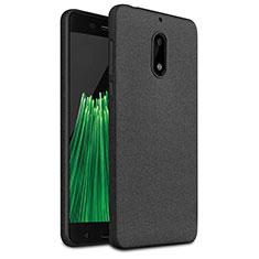 Custodia Morbida Silicone Lucido per Nokia 6 Nero
