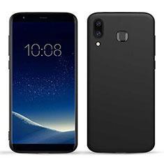 Custodia Morbida Silicone Lucido per Samsung Galaxy A9 Star SM-G8850 Nero