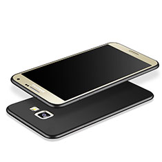 Custodia Morbida Silicone Lucido per Samsung Galaxy J7 Prime Nero