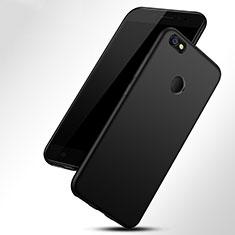 Custodia Morbida Silicone Lucido per Xiaomi Redmi Y1 Nero