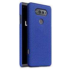 Custodia Plastica Cover Rigida Sabbie Mobili per LG V20 Blu