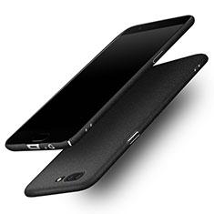 Custodia Plastica Cover Rigida Sabbie Mobili per OnePlus 5 Nero