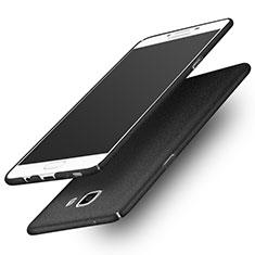 Custodia Plastica Cover Rigida Sabbie Mobili per Samsung Galaxy C9 Pro C9000 Nero