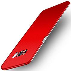 Custodia Plastica Cover Rigida Sabbie Mobili per Samsung Galaxy S8 Rosso
