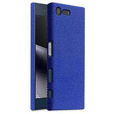 Custodia Plastica Cover Rigida Sabbie Mobili per Sony Xperia X Compact Blu