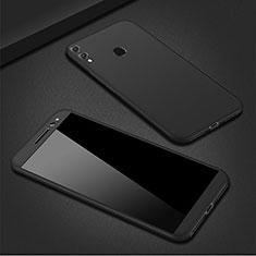 Custodia Plastica Rigida Cover Opaca Fronte e Retro 360 Gradi M01 per Huawei P Smart (2019) Nero