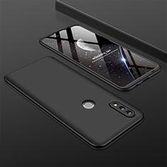 Custodia Plastica Rigida Cover Opaca Fronte e Retro 360 Gradi per Huawei Nova Lite 3 Nero