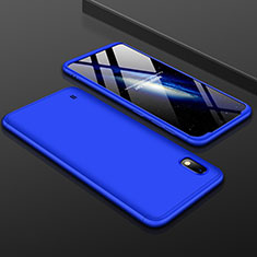 Custodia Plastica Rigida Cover Opaca Fronte e Retro 360 Gradi per Samsung Galaxy A10 Blu