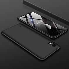 Custodia Plastica Rigida Cover Opaca Fronte e Retro 360 Gradi per Samsung Galaxy A10 Nero