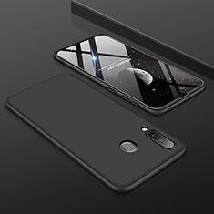 Custodia Plastica Rigida Cover Opaca Fronte e Retro 360 Gradi per Samsung Galaxy A30 Nero
