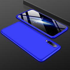 Custodia Plastica Rigida Cover Opaca Fronte e Retro 360 Gradi per Samsung Galaxy A50 Blu