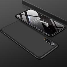 Custodia Plastica Rigida Cover Opaca Fronte e Retro 360 Gradi per Samsung Galaxy A50 Nero