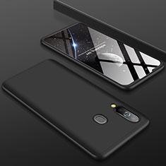 Custodia Plastica Rigida Cover Opaca Fronte e Retro 360 Gradi per Samsung Galaxy A60 Nero