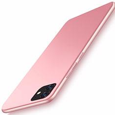 Custodia Plastica Rigida Cover Opaca M01 per Apple iPhone 11 Oro Rosa