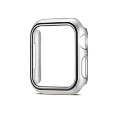 Custodia Plastica Rigida Cover Opaca M01 per Apple iWatch 5 44mm Argento