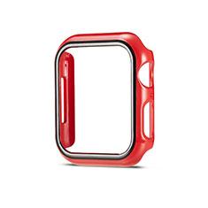 Custodia Plastica Rigida Cover Opaca M01 per Apple iWatch 5 44mm Rosso