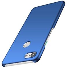 Custodia Plastica Rigida Cover Opaca M01 per Google Pixel 3 Blu