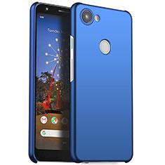 Custodia Plastica Rigida Cover Opaca M01 per Google Pixel 3a Blu