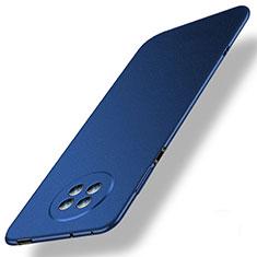 Custodia Plastica Rigida Cover Opaca M01 per Huawei Enjoy 20 Plus 5G Blu