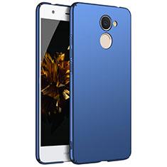 Custodia Plastica Rigida Cover Opaca M01 per Huawei Enjoy 7 Plus Blu