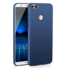 Custodia Plastica Rigida Cover Opaca M01 per Huawei Enjoy 7S Blu