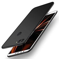 Custodia Plastica Rigida Cover Opaca M01 per Huawei Enjoy 8 Plus Nero