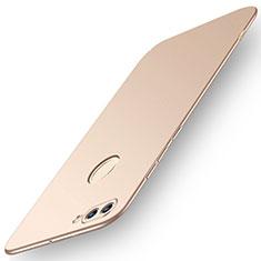 Custodia Plastica Rigida Cover Opaca M01 per Huawei Enjoy 8 Plus Oro