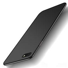 Custodia Plastica Rigida Cover Opaca M01 per Huawei Enjoy 8e Lite Nero
