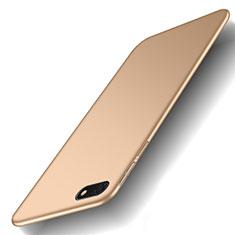 Custodia Plastica Rigida Cover Opaca M01 per Huawei Enjoy 8e Lite Oro