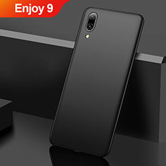Custodia Plastica Rigida Cover Opaca M01 per Huawei Enjoy 9 Nero