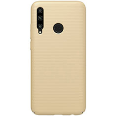 Custodia Plastica Rigida Cover Opaca M01 per Huawei Enjoy 9s Oro