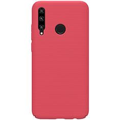 Custodia Plastica Rigida Cover Opaca M01 per Huawei Enjoy 9s Rosso
