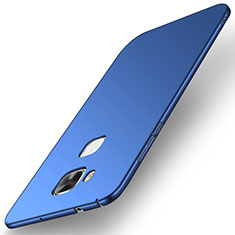 Custodia Plastica Rigida Cover Opaca M01 per Huawei G7 Plus Blu
