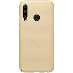 Custodia Plastica Rigida Cover Opaca M01 per Huawei Honor 20 Lite Oro