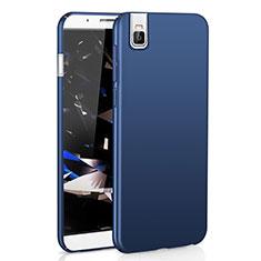 Custodia Plastica Rigida Cover Opaca M01 per Huawei Honor 7i shot X Blu