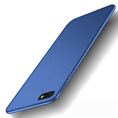 Custodia Plastica Rigida Cover Opaca M01 per Huawei Honor 7S Blu
