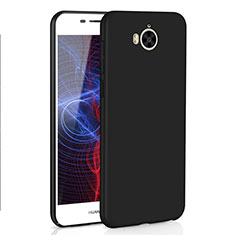 Custodia Plastica Rigida Cover Opaca M01 per Huawei Honor Play 6 Nero