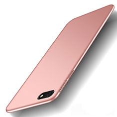 Custodia Plastica Rigida Cover Opaca M01 per Huawei Honor Play 7 Oro Rosa
