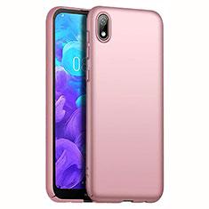 Custodia Plastica Rigida Cover Opaca M01 per Huawei Honor Play 8 Oro Rosa