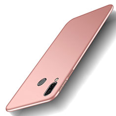 Custodia Plastica Rigida Cover Opaca M01 per Huawei Honor Play Oro Rosa