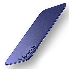 Custodia Plastica Rigida Cover Opaca M01 per Huawei Honor Play4 5G Blu