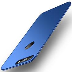 Custodia Plastica Rigida Cover Opaca M01 per Huawei Honor V20 Blu