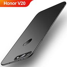 Custodia Plastica Rigida Cover Opaca M01 per Huawei Honor V20 Nero