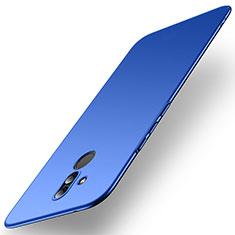 Custodia Plastica Rigida Cover Opaca M01 per Huawei Mate 20 Lite Blu