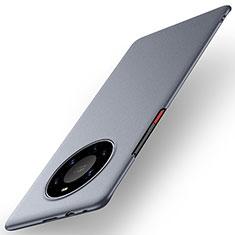 Custodia Plastica Rigida Cover Opaca M01 per Huawei Mate 40 Pro+ Plus Grigio