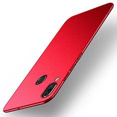 Custodia Plastica Rigida Cover Opaca M01 per Huawei Nova 3 Rosso