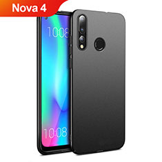 Custodia Plastica Rigida Cover Opaca M01 per Huawei Nova 4 Nero