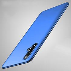 Custodia Plastica Rigida Cover Opaca M01 per Huawei Nova 5 Blu