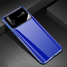 Custodia Plastica Rigida Cover Opaca M01 per Huawei Nova 5T Blu